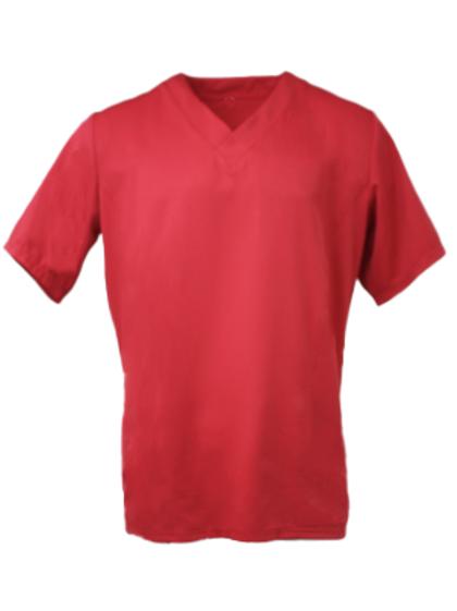 Men's Bio Scrub Top - Red