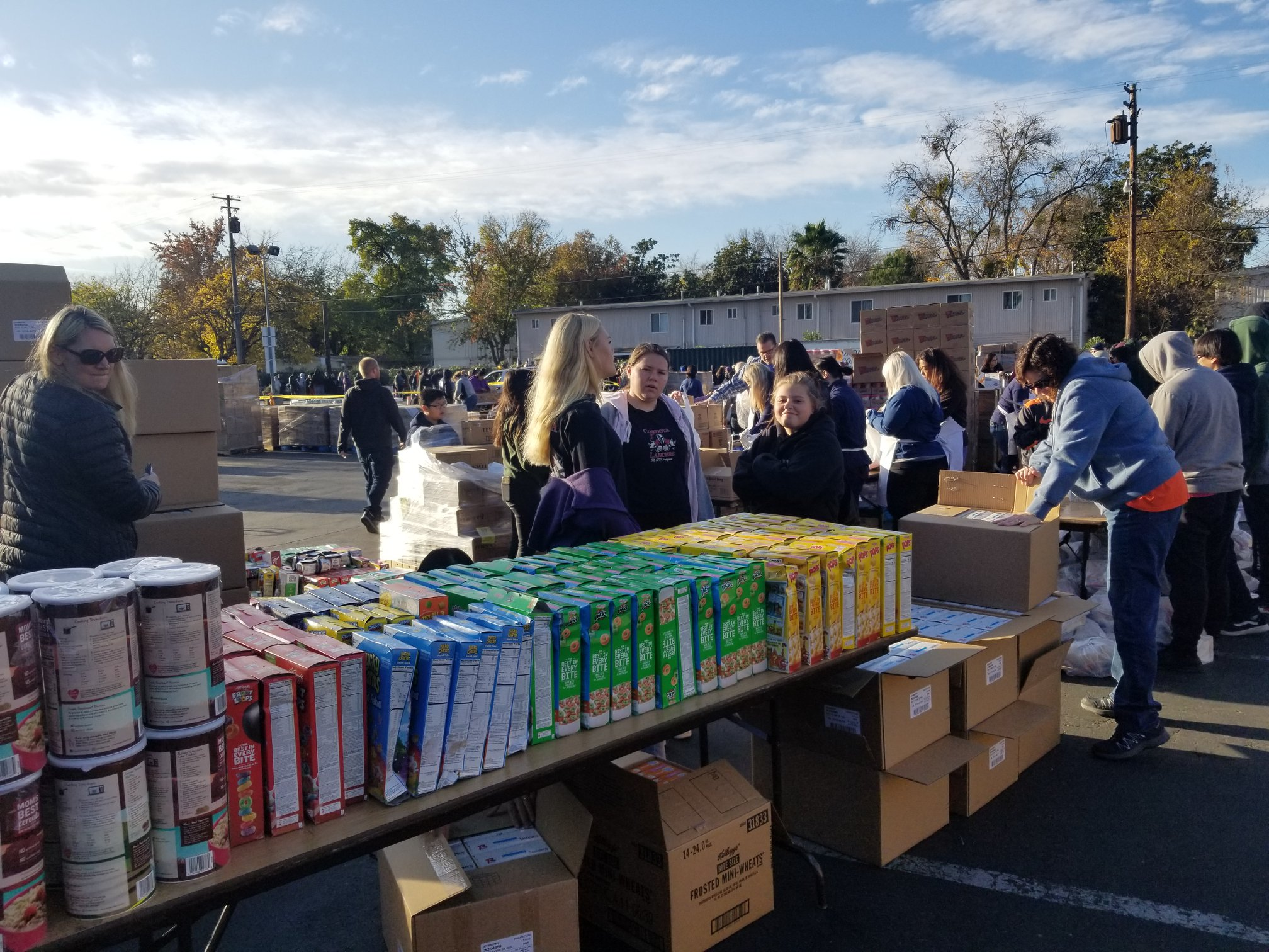 Thanksgiving 2019 food giveaway