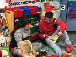 Literacy Buddies trio 2020