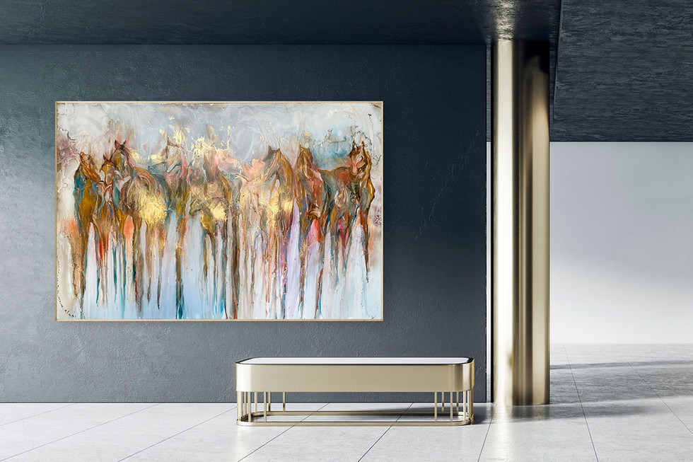 Available Portfolio Luminous No. 3 (horses)