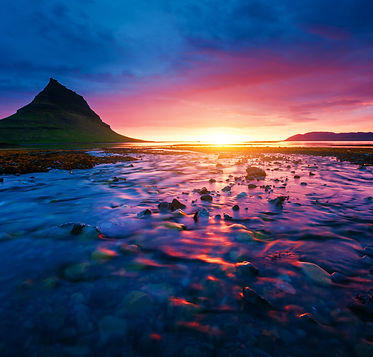 bigstock-Evening-Kirkjufell-volcano-the-