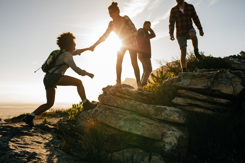 bigstock-Young-People-On-Mountain-Hike--