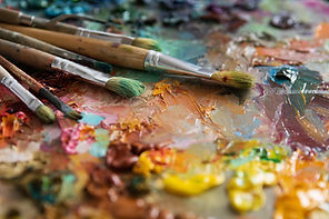 bigstock-Artists-Brushes-And-Oil-Paints-
