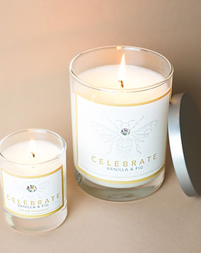 Vanilla and fig candle erin jane illuminations handmade