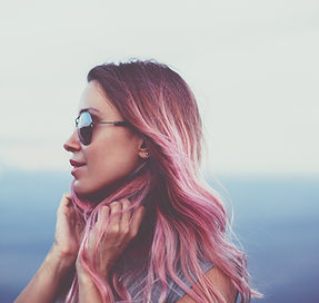 bigstock-Woman-with-pink-hair-standing--