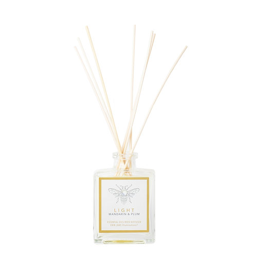 Light Reed Diffuser | Mandarin & Plum