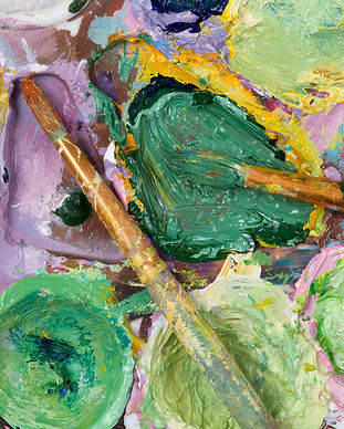 bigstock-Vintage-Artists-Palette-With-A-