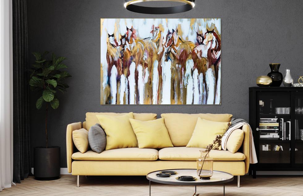 FIGURES + HORSES No. 17