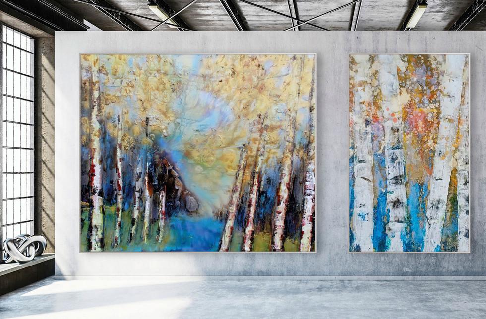 LAND + TREES No.31