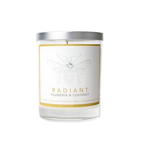 Radiant Candle | Plumeria & Coconut