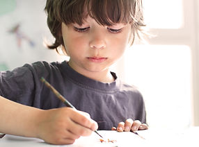 bigstock-Children-draw-in-home-65218408.