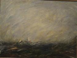 """Heavy Seas, 36"""" x 48"""""""