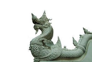 bigstock-White-Serpent-Statue-With-Beau-