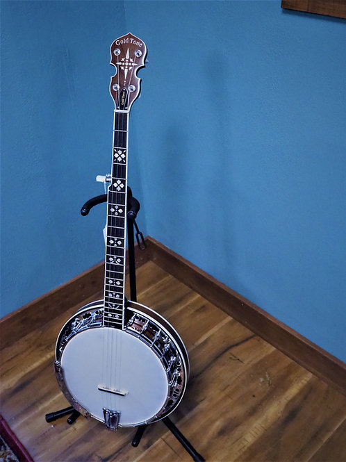 Gold Tone Blue Grass Banjo
