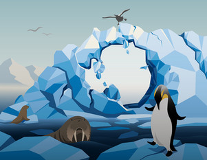 Melting of Antarctica