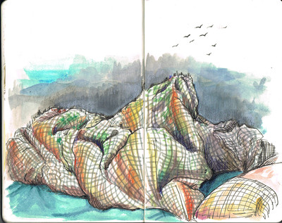 comforter mountain.jpeg