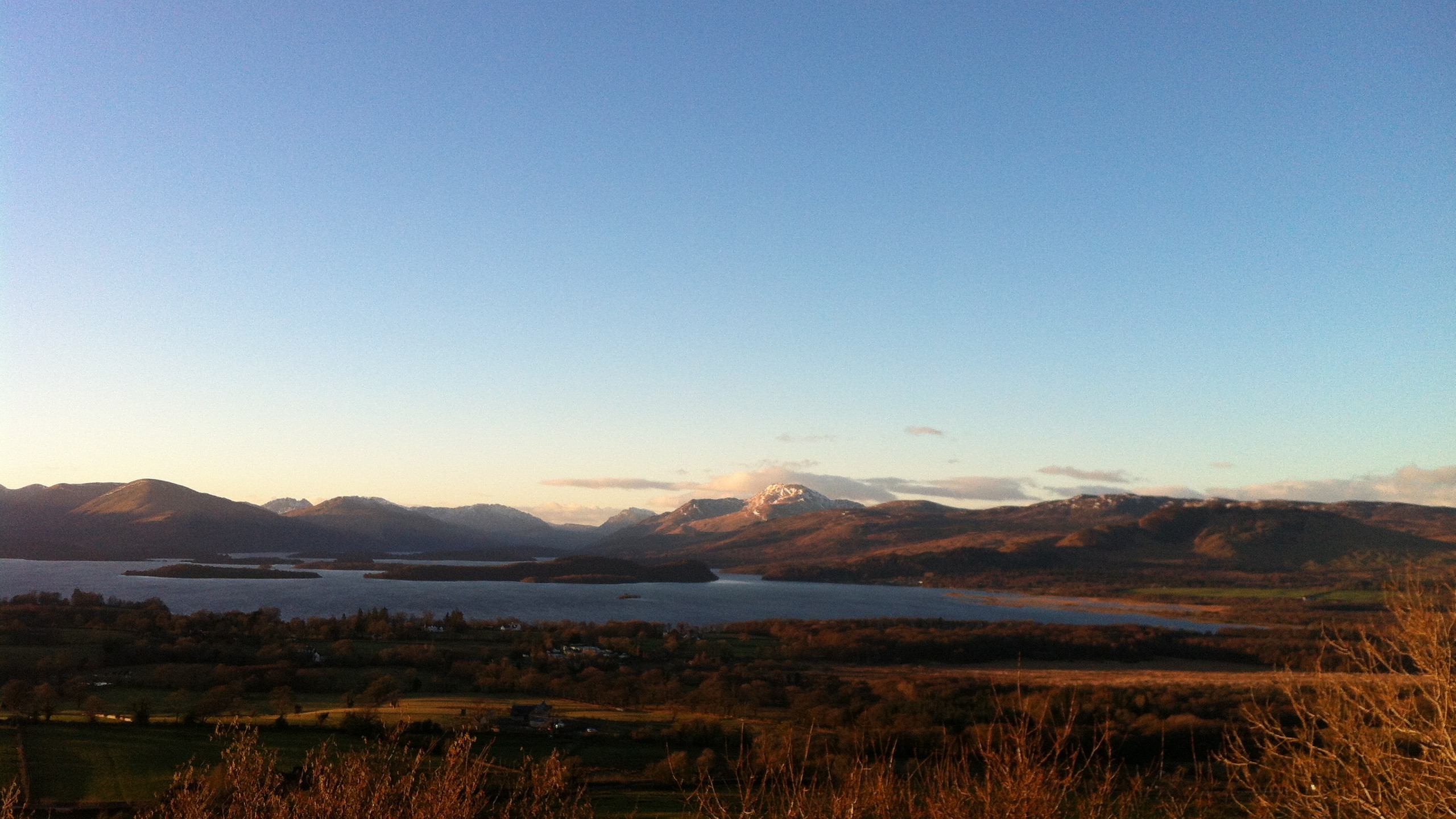 View from Duncryne Hill, Gartocharn