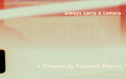 always carry a camera film poster
