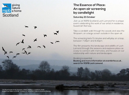 The Essence of Place: An open air screening by candlelight.
