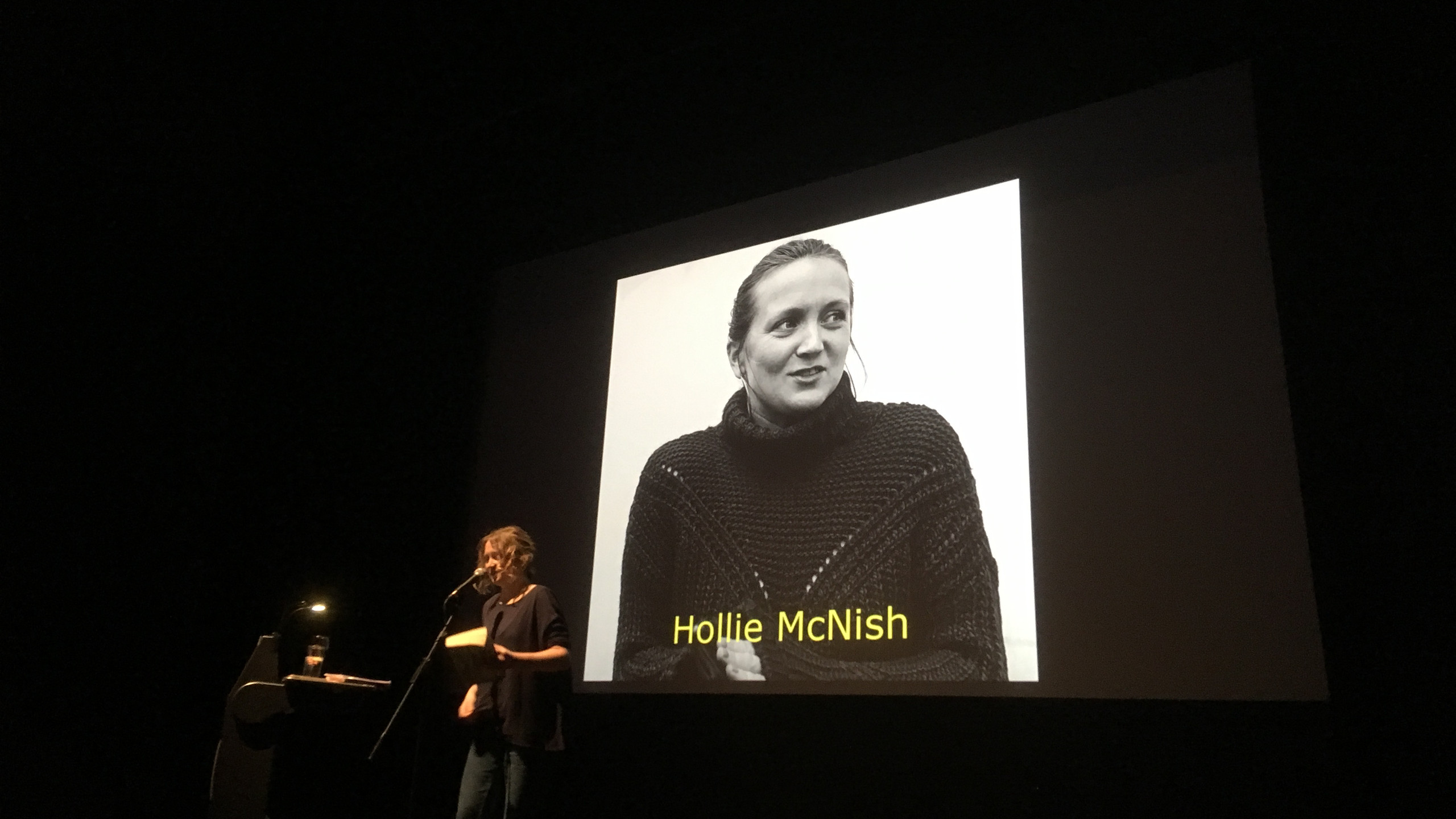 Hollie McNish.