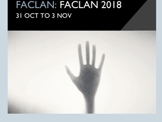 Exhibition: Experiencing the Filmpoem at An Lanntair Arts Centre, Stornoway, Isle of Lewis (2018).