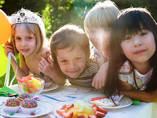 Great Birthday Party Ideas for Toddlers and Preschoolers