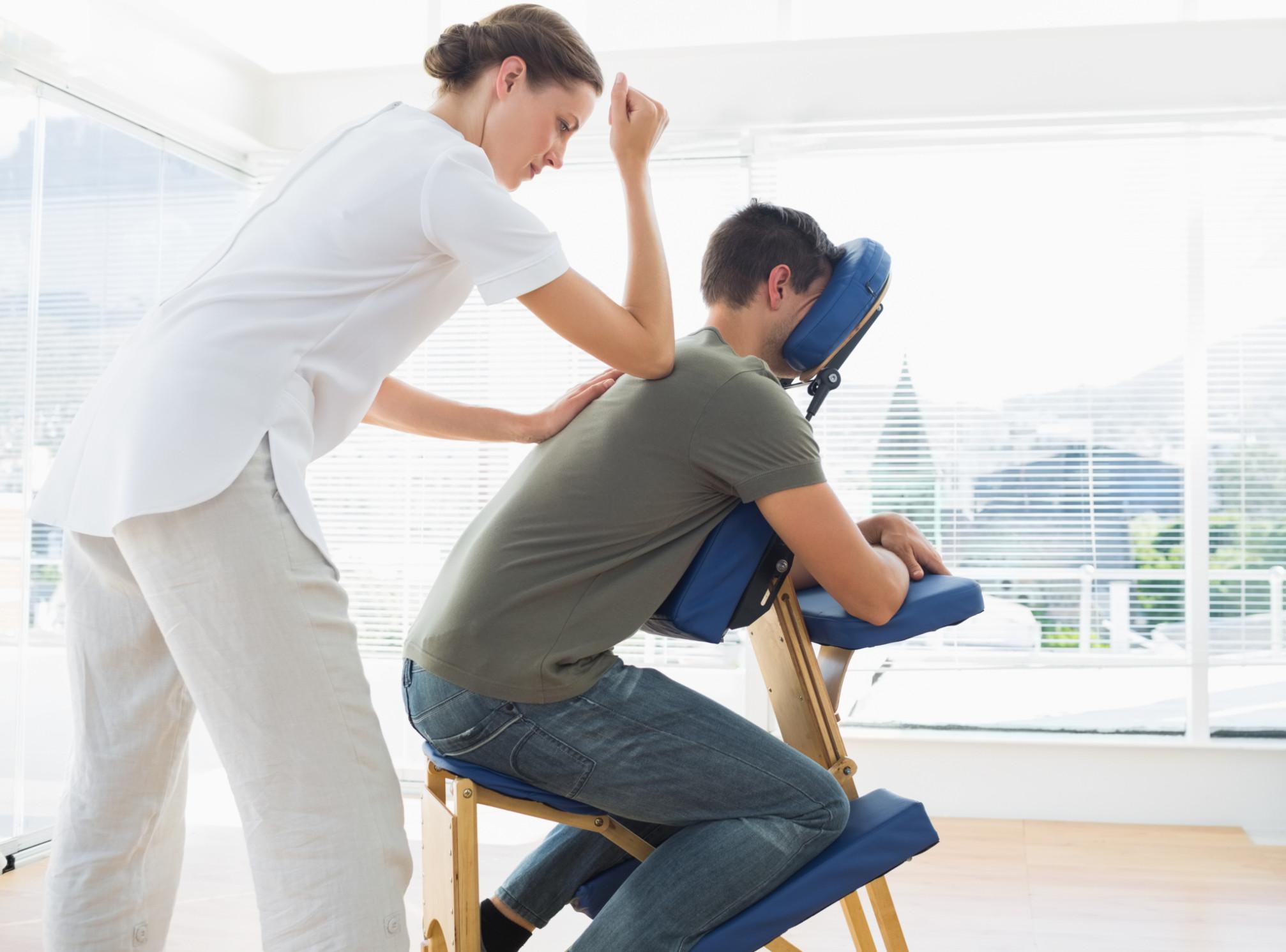 15 Mins Chair Massage
