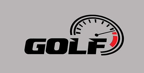 Golf Sticker 14cm