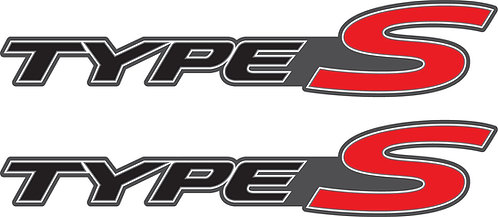 Honda Civic Type S Side Stickers Set