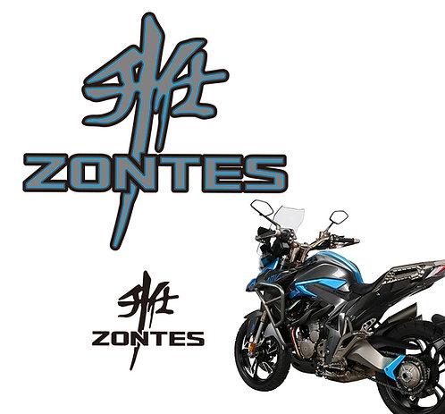 Zontes 310 logo set