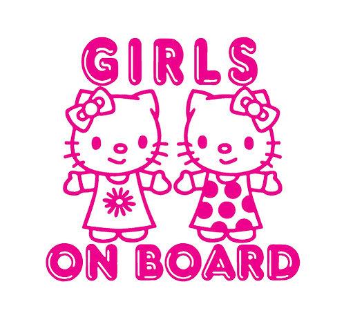 Sticker Girls on Board