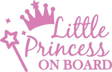 Sticker Little Princess on Board
