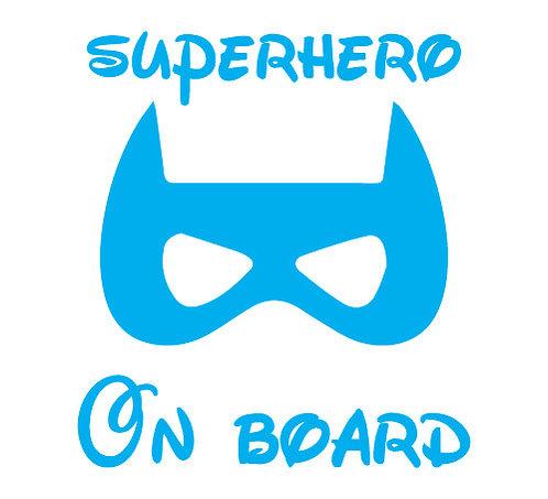 Sticker Superhero on Board