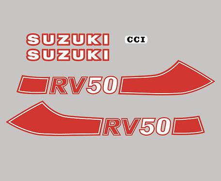 Suzuki RV50 stickers