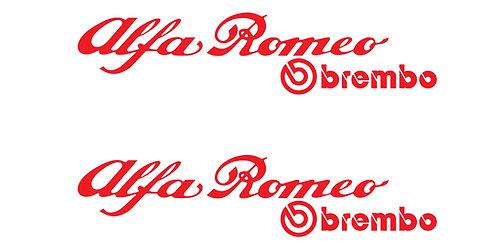 Alfa Romeo Brembo 14cm