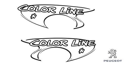 Peugeot 206 Color Line