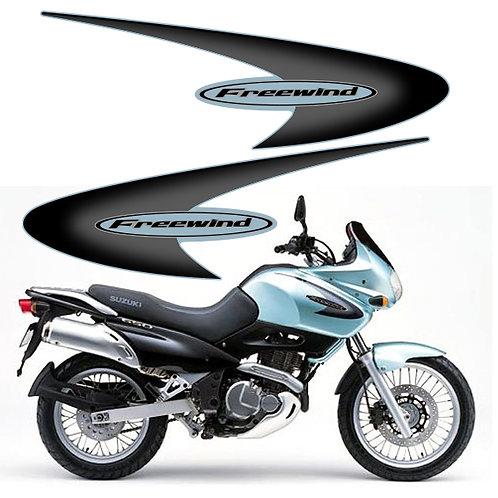 Suzuki Freewind 650 Side Stickers