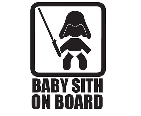 Sticker Baby Sith on Board