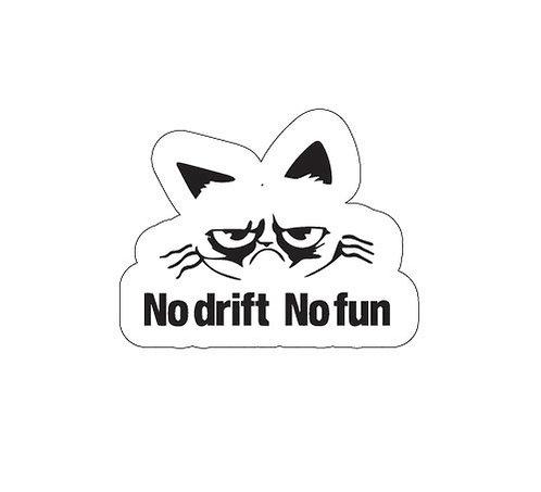 Sticker No Drift No Fun