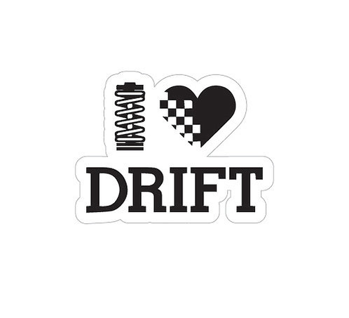 Sticker I Love Drift