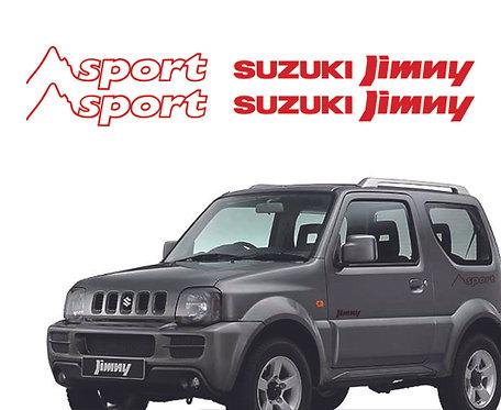 Suzuki Jimny Sport Stickers