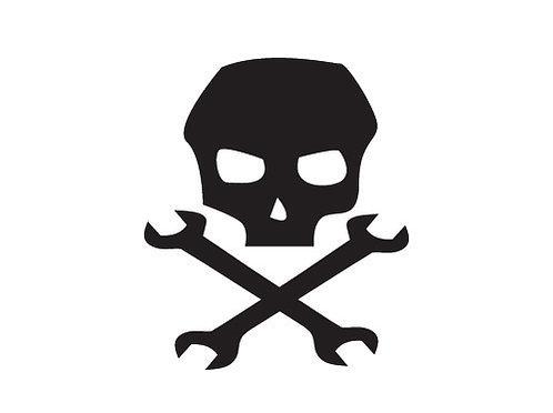 Sticker Skull