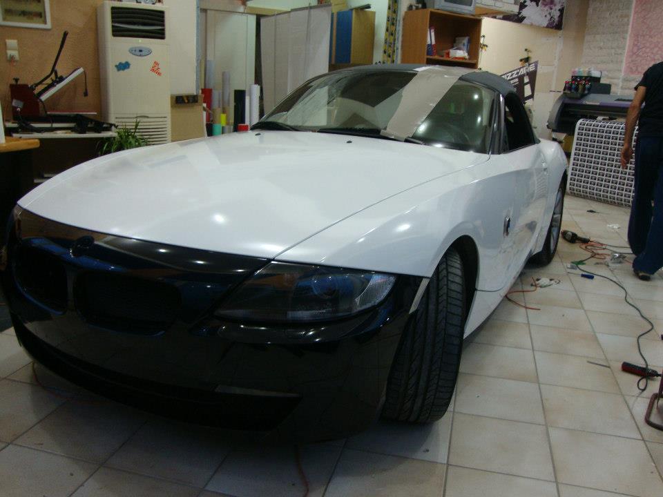 BMW Z4_white gloss