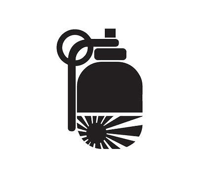 Sticker Grenade