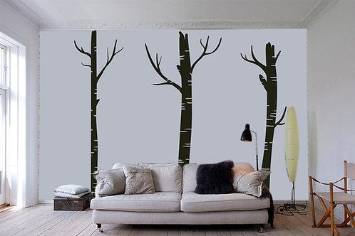 """Αυτοκόλλητο Τοίχου """"Δέντρα"""""""