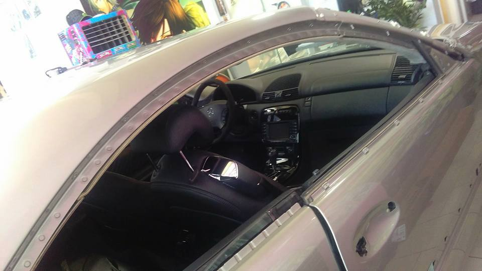 Mercedes CL65 Black Matte