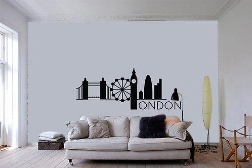 """Αυτοκόλλητο Τοίχου """"London"""""""