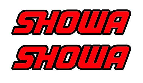 SHOWA Fork Sticker