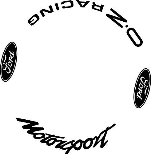 OZ Racing Rally Wheels Ford