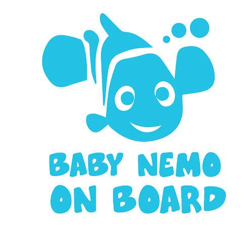 Sticker Baby Nemo on Board